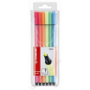 STABILO Rostirón készlet, 1 mm, STABILO Pen 68, 6 neon szín (TST68061)