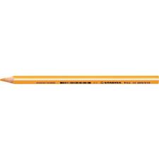 """STABILO Színes ceruza, háromszögletű, vastag, STABILO """"Trio"""", világos narancssárga színes ceruza"""