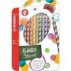 """STABILO Színes ceruza készlet, háromszögletű, jobbkezes, STABILO \""""EasyColours\"""", 12 különböző szín [12 db]"""