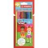 """STABILO Színes ceruza készlet, hatszögletű, STABILO \""""Color\"""", 12 különböző szín [12 db]"""