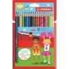 """STABILO Színes ceruza készlet, hatszögletű, STABILO \""""Color\"""", 18 különböző szín [18 db]"""