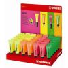 "STABILO Szövegkiemelő display, 2-5 mm, STABILO ""Neon"", vegyes színek"