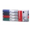 """STABILO Táblamarker készlet, 2,5-3,5 mm, kúpos,  """"Plan"""", 4 különböző szín"""