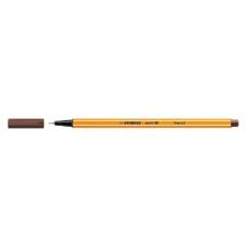 "STABILO Tűfilc, 0,4 mm, STABILO ""Point 88"", barna filctoll, marker"