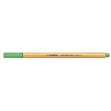 "STABILO Tűfilc, 0,4 mm, STABILO ""Point 88"", neon zöld filctoll, marker"
