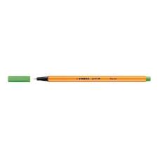 "STABILO Tűfilc, 0,4 mm, STABILO ""Point 88"", világoszöld filctoll, marker"