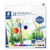 """STAEDTLER Akvarell ceruza készlet, hatszögletű,  """"Design Journey"""", 24 különböző szín"""