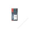 STAEDTLER Alkoholos marker, 0,4 mm, 313, 6 különböző szín (TS313WP6)