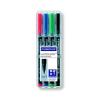STAEDTLER Alkoholos marker készlet, OHP, 0,4 mm, STAEDTLER