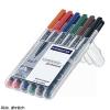 """STAEDTLER Alkoholos marker készlet, OHP, 0,6 mm,  """"Lumocolor 318 F"""", 6 különböző szín"""