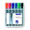 STAEDTLER Flipchart marker készlet, kúpos, STAEDTLER Lumocolor 356, 6 különböző szín (TS356WP6)