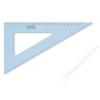 STAEDTLER Háromszög vonalzó, műanyag, 60°, 25 cm, STAEDTLER Mars, átlátszó kék (TS5672660)