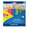 STAEDTLER Színes ceruza háromszögletű 24 db-os NORIS CLUB- 1270 C24 - STAEDTLER