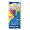 """STAEDTLER Színes ceruza készlet, háromszögletű, STAEDTLER """"Noris Club"""", 12 különböző szín"""