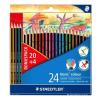 """STAEDTLER Színes ceruza készlet, hatszögletû, STAEDTLER """"Noris Colour"""", 20+4 különbözõ szín"""