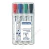 STAEDTLER Táblamarker készlet, 2,5 mm, vágott, STAEDTLER Lumocolor 351 B, 4 különböző szín (TS351BWP4)
