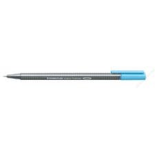 STAEDTLER Tűfilc, 0,3 mm, STAEDTLER Triplus, vízkék (TS33434) filctoll, marker
