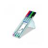 """STAEDTLER Tufilc készlet, 0,3 mm, STAEDTLER """"Triplus Box"""", 4 különbözo szín (4 db)"""