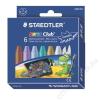 STAEDTLER Zsírkréta, vastag, STAEDTLER Noris Club, 6 metál szín (TS2240C6)