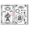 Stamperia Transzfer papír, 2 ív A4 - Eiffel torony minta