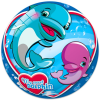 STAR Delfines gumilabda - 23 cm