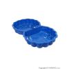 STAR PLUS Homokozó - medence Kagyló - 2 darab kék