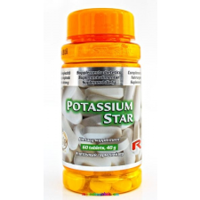 Starlife Potassium Star 60 db tabletta, Kálium az idegrendszer és az izomzat funkcióinak segítésére - Starlife vitamin és táplálékkiegészítő