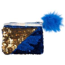 Starpak Simiflitteres kék-arany pénztárca