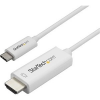 Startech 2M USB C TO HDMI CABLE - WHITE