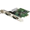 StarTech com 2-PORT PCI EXPRESS SERIAL CARD W/16C1050 UART-RS232 SERIAL CARD