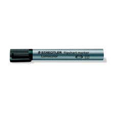 Steadtler Staedtler Flipchart marker, 2 mm, kúpos, fekete filctoll, marker