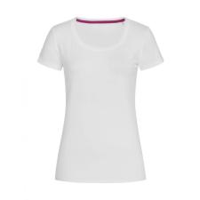 STEDMAN Női rövid ujjú póló Stedman Claire Crew Neck L, Fehér női póló