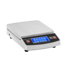Steinberg Systems Digitális asztali mérleg - 5.000 g / 1 g - 14,8 x 15,2 cm - LCD mérleg