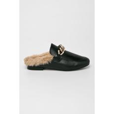 Steve Madden - Papucs cipő Krane Flat - fekete - 1448857-fekete