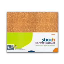 Stick'n Falitábla-23023-460x580mm öntap szivacs BARNA PARAFAMINT STICK'N10db/ parafatábla