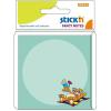 Stick'n Öntapadós jegyzettömb -21320- laza cica 76x76mm 30 lap KIDS STICK'N