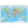 Stiefel A Föld országai angol nyelvű kisméretű térkép