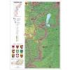 Stiefel Burgenland térképe (német)