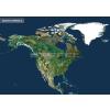 Stiefel Észak-Amerika a világűrből