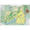 Stiefel Eurocart Kft. A Közép-Dunántúli régió térképe, tűzhető, keretes