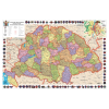 Stiefel Eurocart Kft. A Magyar Szent Korona országai/Magyar történelmi emlékek a Kárpát-medencében térkép könyöklő