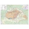 Stiefel Eurocart Kft. A trianoni békekötés következményei térkép tűzhető, keretes