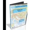 Stiefel Eurocart Kft. Digitális Térkép - Földrészek - Európa 1. (7 térkép)
