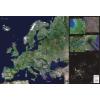 Stiefel Eurocart Kft. Európa űrtérkép könyöklő