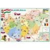 Stiefel Eurocart Kft. Gyerek Magyarország közigazgatása / domborzata könyöklő