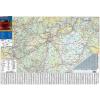 Stiefel Eurocart Kft. Magyarország súlykorlátos térképe fóliás-fémléces