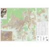 Stiefel Eurocart Kft. Pécs város térképe (lécezett-fóliázott)