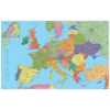 Stiefel Európa autótérkép XXL óriás térkép poszter