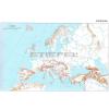 Stiefel Európa körvonalas munkatérképe