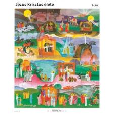 Stiefel Jézus Krisztus élete (háromrészes tablósorozat) térkép